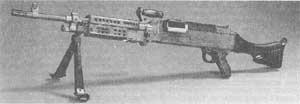 Рис. 1. Пулемет М240В сухопутных войск США