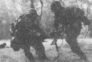 Рис.9 Отход пулеметного расчета из состава штурмовой группы
