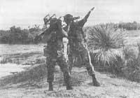 Рис. 2. Расчет ПЗРК «Стингер» на огневой позиции