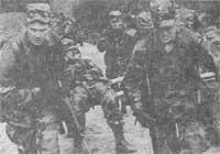 Рис. 3. Разведывательная рота отдельного бронекавалерийского полка на марше