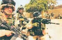 Подразделения 3-й механизированной дивизии в г. Эль-Наджаф